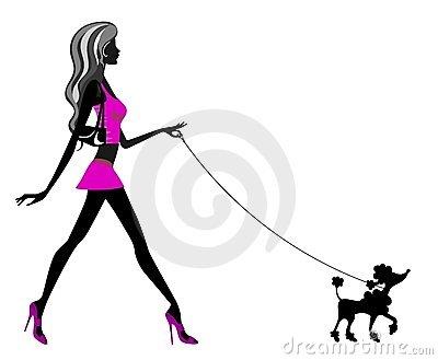 400x329 Poodle Dog Outline Clipart Cliparthut