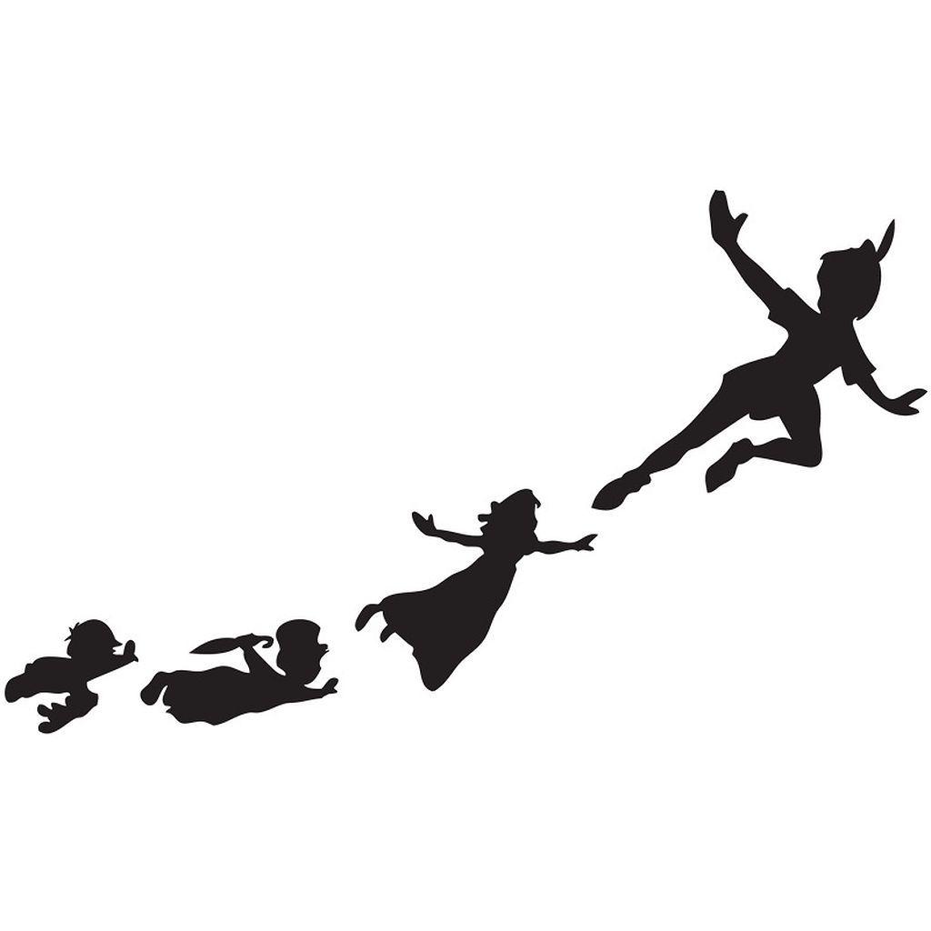 1024x1024 58 Peter Pan Shadow Wall Decal Ideas Peter Pan Shadow, Wall