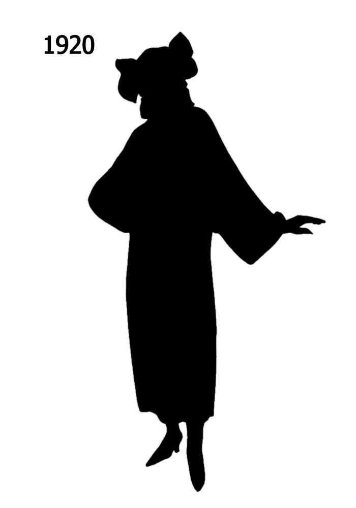 Girl Silhouette Template