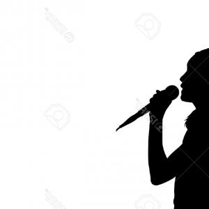 300x300 Singer And Musicians Silhouettes Vector Arenawp