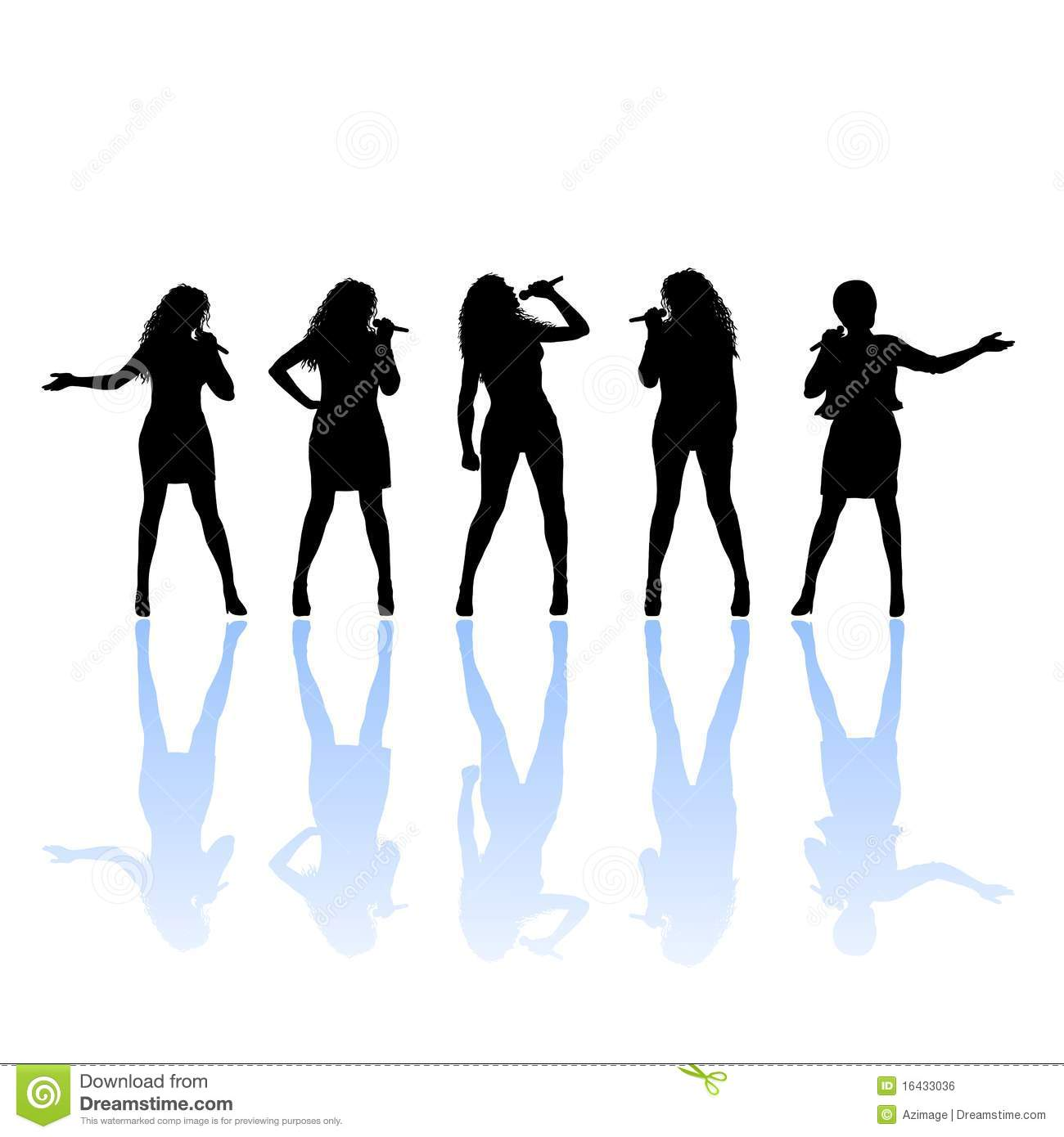 1300x1390 Girl Singing Clip Art Silhouette Of Female Singer Royalty Free