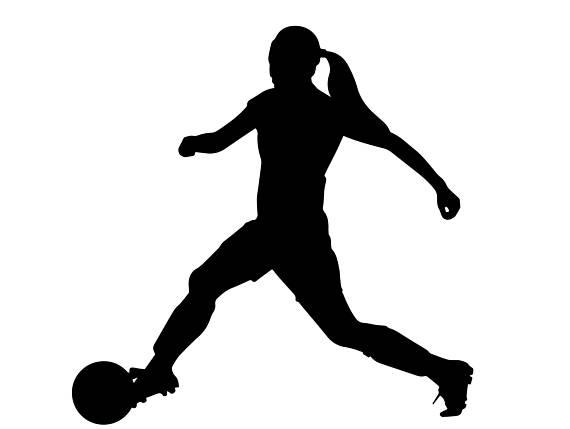 570x429 Soccer Girl Football Sports League Stadium Goal American Game