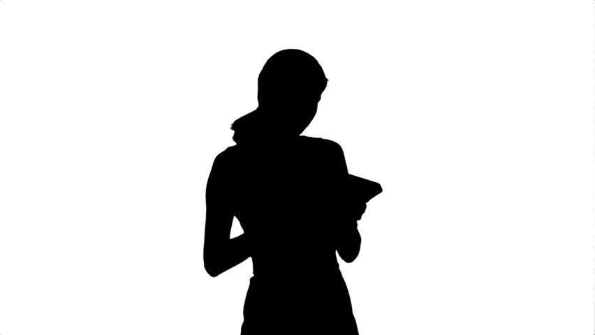 Girl With Balloon Silhouette