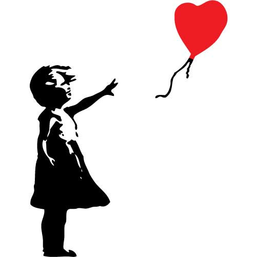 501x501 Banksy Girl With Balloon Signed – (POA) Banksy Artwork