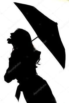 236x354 girl silhouette with umbrella