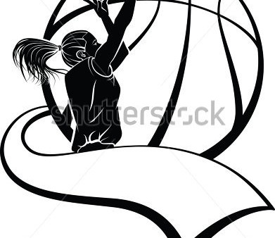 Girls Basketball Silhouette at GetDrawings com | Free for