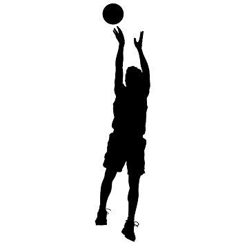 355x355 Basketball Wall Decal Sticker 39