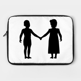 285x285 Limited Edition. Exclusive Little Boy And Girl Holding Hands