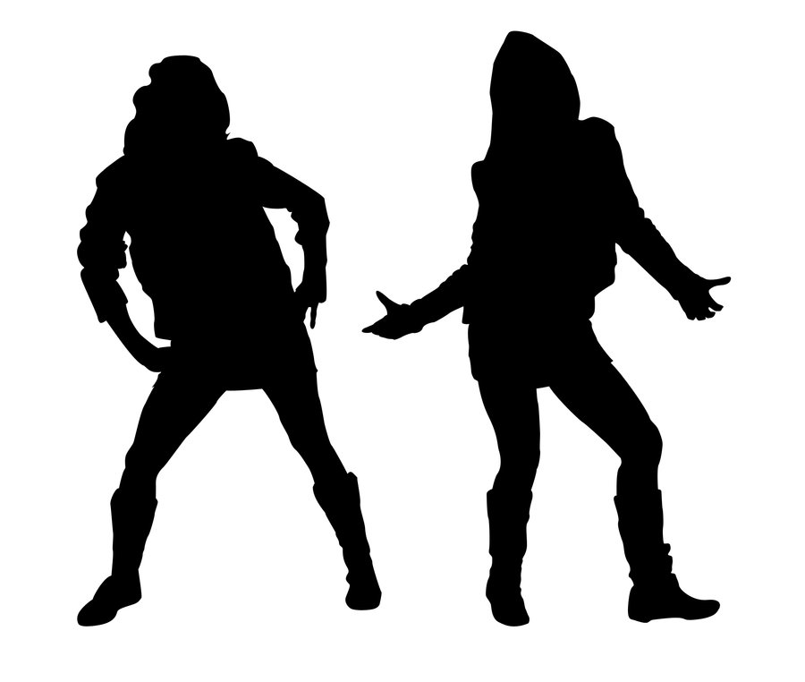 900x762 Hip Hop Girls Silhouette 1 By Kkplum