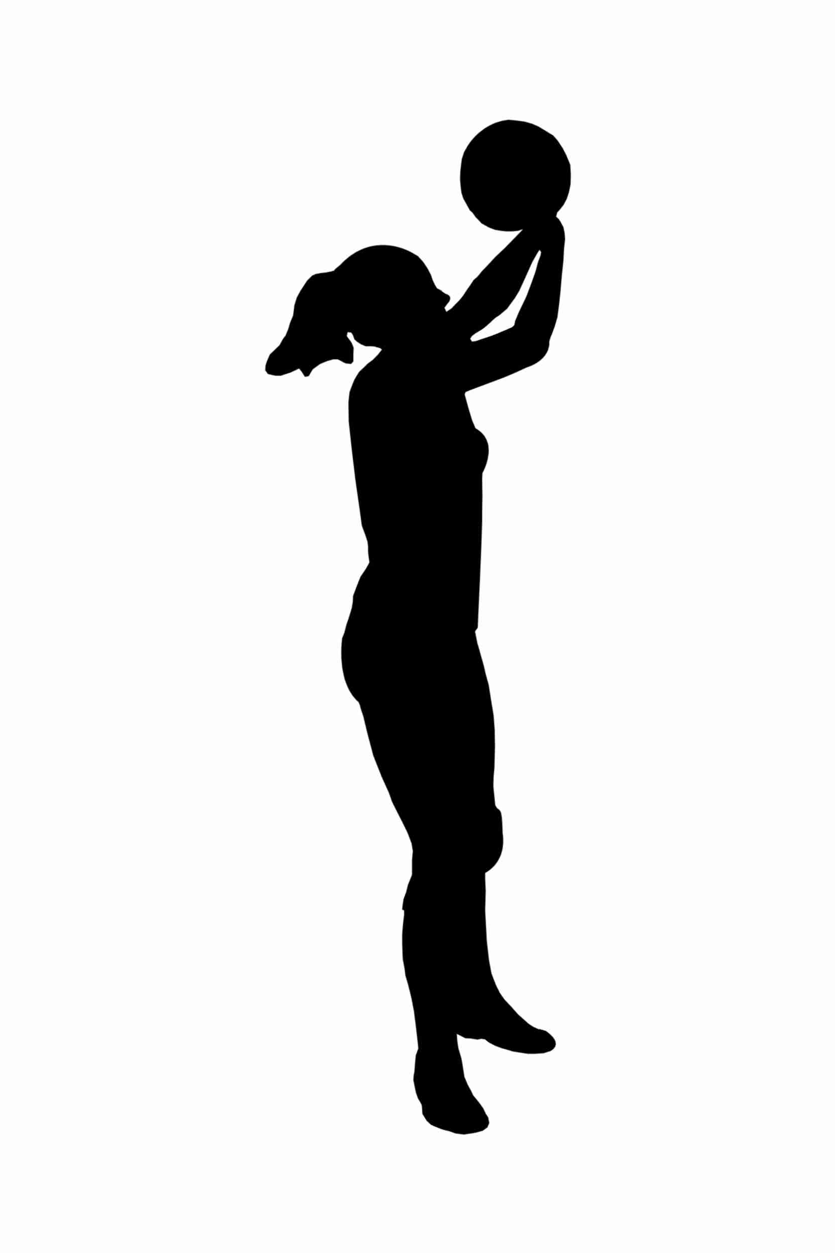 1663x2496 Free Volleyball Player Silhouette Clipart Image 3194 Beauteous
