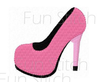 340x270 High Heel Shoe Pump Cinderella Glass Slipper Stiletto Silhouette