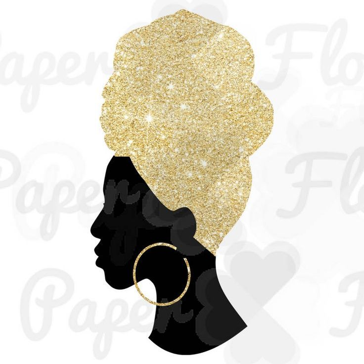 736x736 Headwrap Woman Png Gold Glitter Headwrap Png Gold Black Girl Png