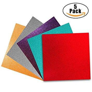 355x355 Glitter Vinyl Self Adhesive Vinyl Sheets 12 X 12