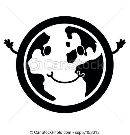 450x470 Globe Silhouette Illustrations And Stock Art. 30,828 Globe
