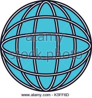 300x320 Colorful Silhouette Of World Globe Icon Stock Vector Art