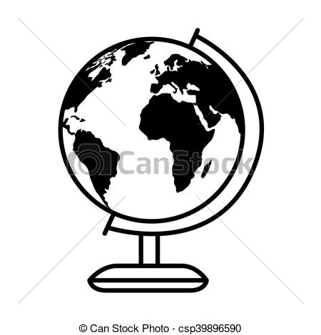 450x470 Earth Planet Glober World Geography Object Vector Eps Vectors