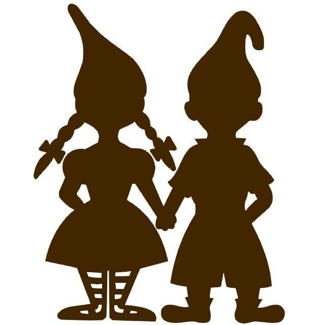 Gnome Silhouette