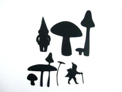 400x300 Garden Gnomes And Mushrooms Solar Garden Lights Gnome With White