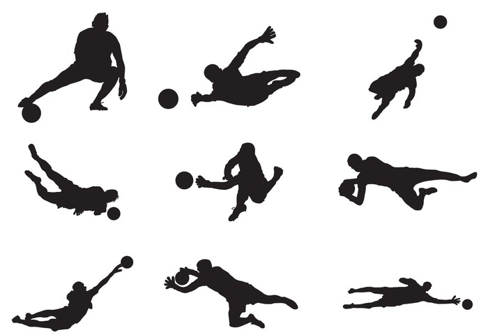 700x480 Soccer Goalkeeper Silhouette Wall Mural We Live To Change