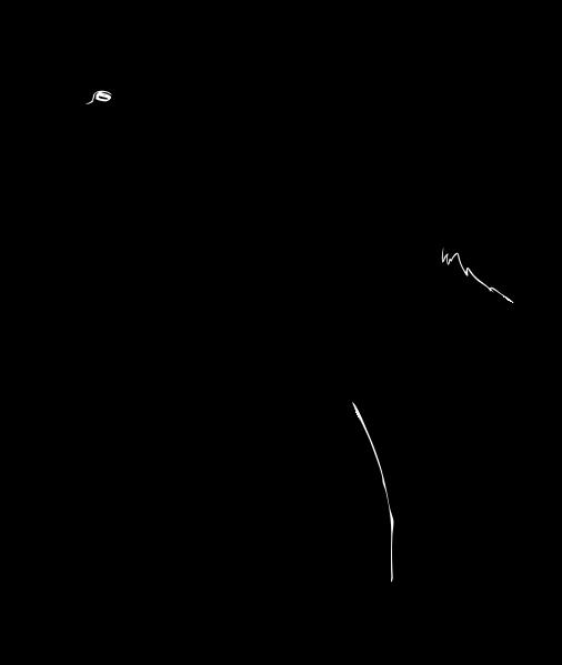506x599 Filegoat Silhouette 02.svg