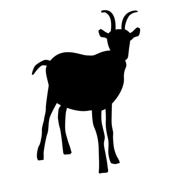 640x640 Goat Animal Silhouette Free Illustrations