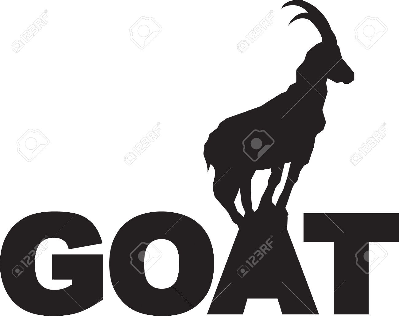 1300x1030 Mountain Goat Royalty Free Cliparts, Vectors, And Stock
