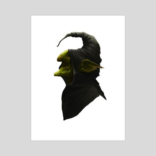 540x540 Goblin Portrait, An Art Print By Michael Sanchez