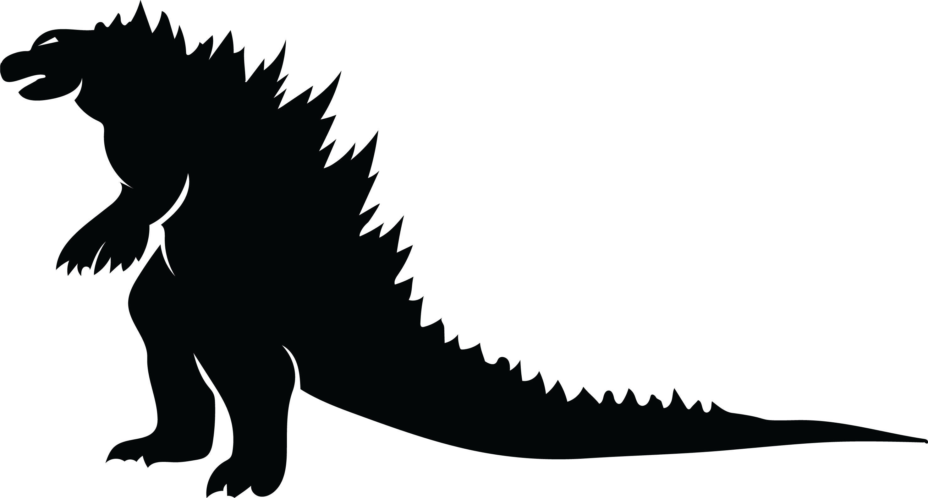 godzilla silhouette at getdrawings com free for personal use rh getdrawings com godzilla clip art free All Godzilla Clip Art