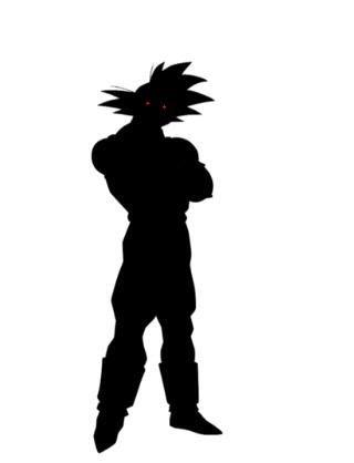 320x418 Black Goku Dragonballz Amino