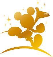 186x200 Gold Mickey Silhouette.jpg Everything Disney