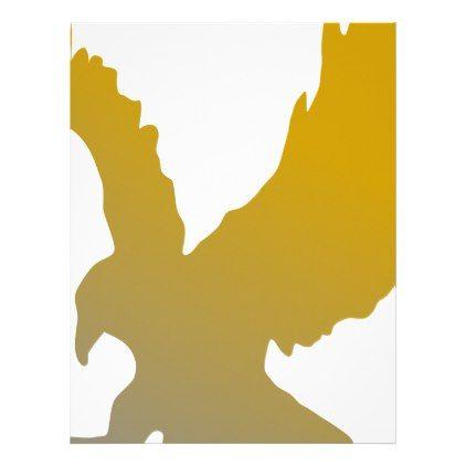 422x422 Golden Eagle Silhouette Letterhead