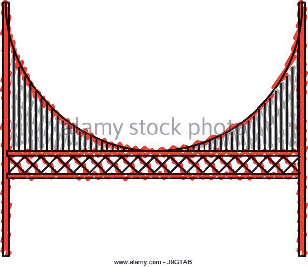 622x540 Golden Gate Bridge Stock Vector Images