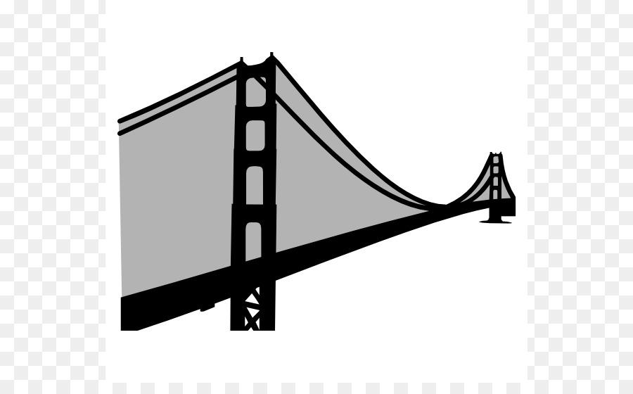 900x560 Golden Gate Bridge Suspension Bridge Clip Art