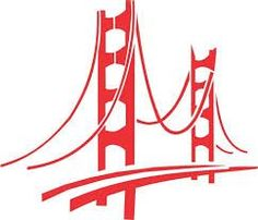 236x202 Golden Gate Bridge Outline