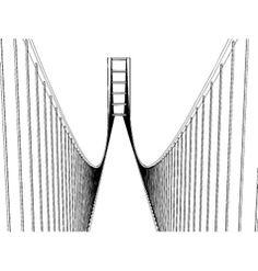 236x247 San Francisco Golden Gate Bridge Vector Art