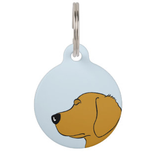 307x307 Golden Retriever Pet Tags For Dogs Amp Cats Zazzle