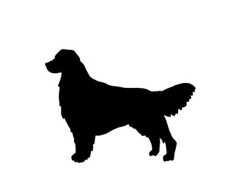 340x270 Golden Retriever Decal Etsy