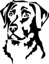 172x225 Labrador Decal Ebay