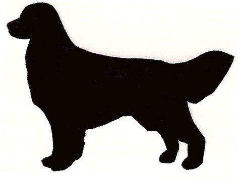 472x358 Golden Retriever Silhouette Clip Art Golden Retriever Silhouette