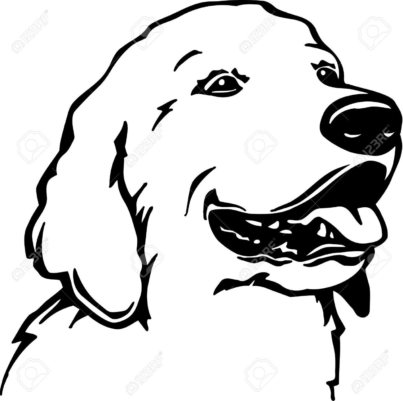 Golden Retriever Silhouette Clip Art At Getdrawings Com Free For