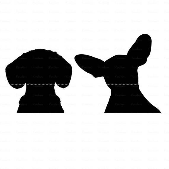 570x570 Dog Svg Dog Silhouette Clipart Golden Retriever Svg Dog Face