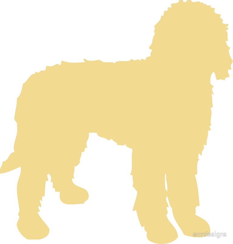 766x800 Golden Doodle Silhouette Stickers By Emrdesigns Redbubble