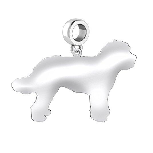 535x535 Golden Doodle Dog Charm Golden Doodle Charm Fits