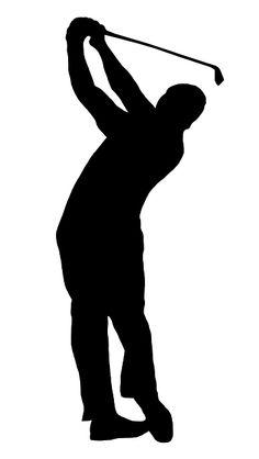 236x418 Girl Golfer With Golf Bag Silhouette Golf Bags, Golf And Golf Stuff