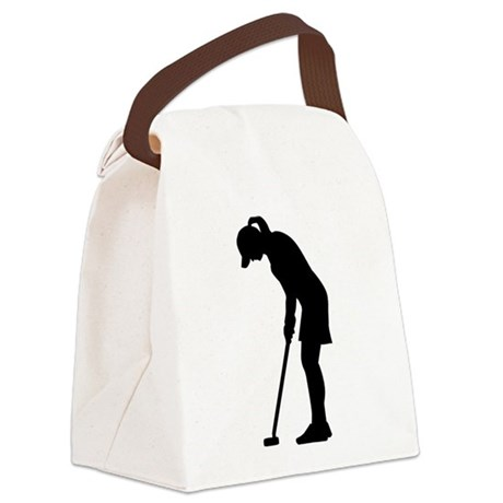 460x460 Golf Canvas Lunch Bags