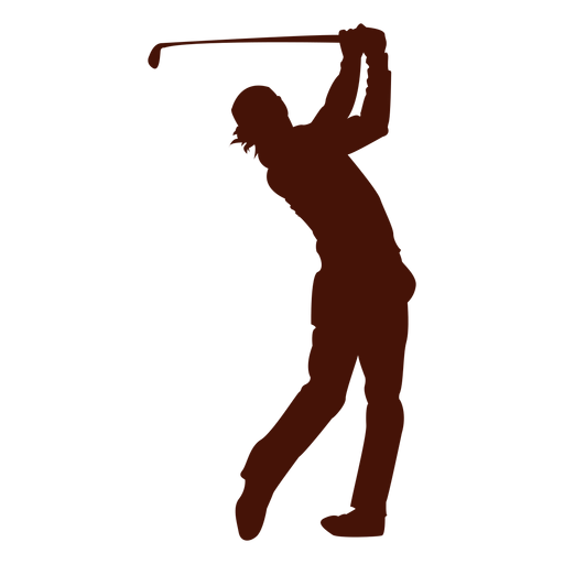 512x512 Golf Player Silhouette Transparent Png