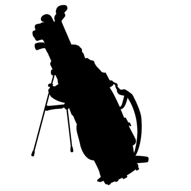 640x640 Wholesale 20pcslot Elegant Golf Bag Clubs Graphic Car Sticker
