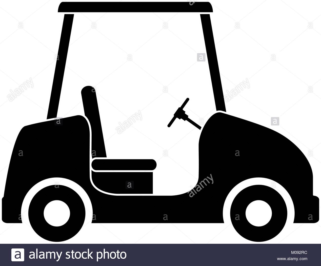 1300x1077 Golf Cart Black And White Stock Photos Amp Images