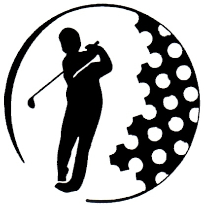 414x420 Free Black And White Golf Clipart