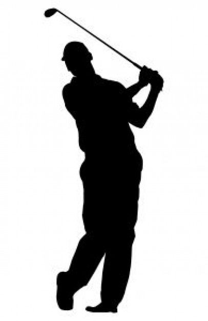 406x626 Golf Player Svg Files Golf, Silhouettes And Cricut